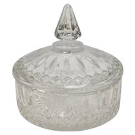 Indiana Glass Candy Dish w/ Lid