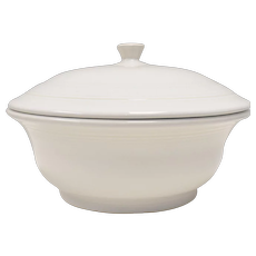 Fiesta by Homer Laughlin Fiesta White 2qt Round Covered Casserole Dish w/ Lid