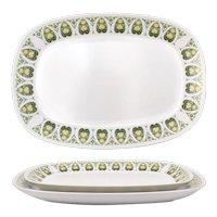 "Noritake ""Palos Verde"" Pattern Progression China Serving Plate Set"