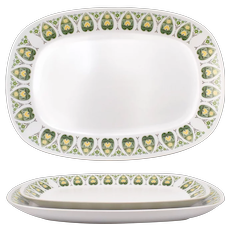 "Noritake ""Palos Verde"" Pattern Progression China Serving Plate Set"