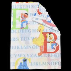 J.P. Stevens & Co. Sesame Street Alphabet Twin Flat Sheet
