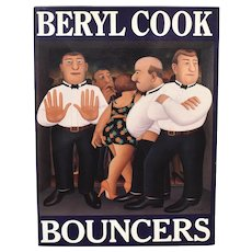 c1991 Bouncers Softcover Illustrations Art Book by Beryl Cook