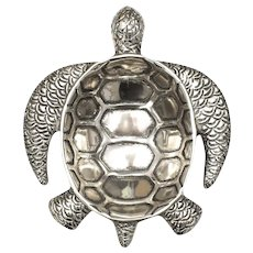 Barware Collection Metallic Sea Turtle Trinket Dish