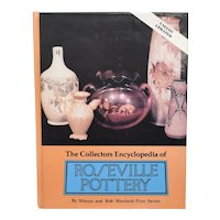 c1976 'The Collectors Encyclopedia of Roseville Pottery by Sharon and Bob Huxford