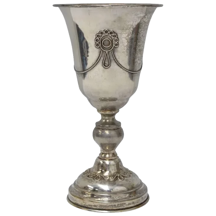 Sterling Silver Wine  Goblet Cup