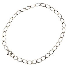 Sterling Silver Starter Charm Bracelet