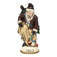 'The Memories of Santa - 1902' Christmas Reproductions Inc. Time Period Stylized Christmas Ornament