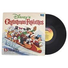 c1979 Disney's Christmas Favorites 13 Christmas Songs Vinyl Record