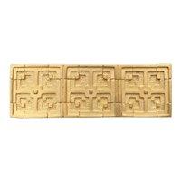 Museum of Modern Art - Frank Lloyd Wright Storer House Block Pin / Brooch