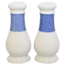 Spode Vermicelli Blue  & White Oversized Ceramic Shaker Set