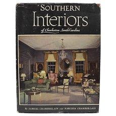 "c1956 ""Southern Interiors of Charleston, South Carolina"" Interior Design Art Photography Hardcover Book"