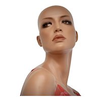 """Natasha"" Female Full Size Mannequin w/ Original Stand"