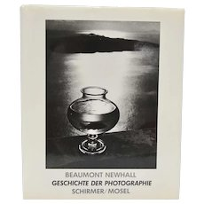 "c1984 ""Geschichte Der Photographie"" The History of Photography German Language Oversized Hardcover Book w/ DJ by Beaumont Newhall"