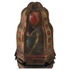 Antique Arts & Crafts Meral Lamp Shade