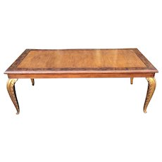 Carved French Dining Table By Randy Esada Design