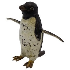 Austrian Cold-Painted Penguin Bronze
