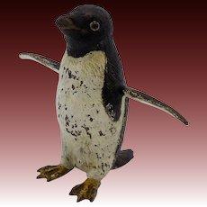 Austrian Cold-Painted Penguin Bronze