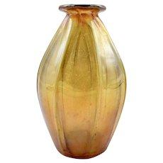 Petite Tiffany Art Nouveau Favrile Glass Vase