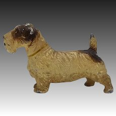 Cold Painted Scottish Terrier Sculpture