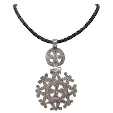 Silver Traditional Berber Pendent Necklace