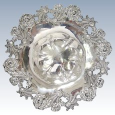 Dominick and Haff Sterling Silver Ocean Themed Bowl-Plate circa 1896