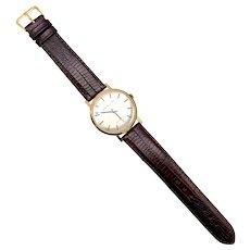 18K Gold Vintage Girard Perregaux Unisex Wristwatch