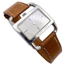 Vintage Etrier Watch by Hermes, Paris