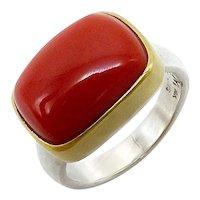 14K Gold Boulder Opal Tony Malmed Ring