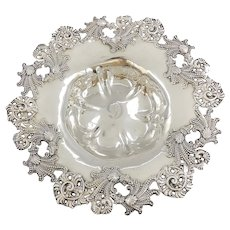 Victorian Dominick & Haff Sterling Silver Ocean Themed Bowl-Plate