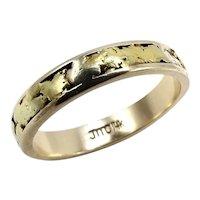 14K & 22K Alaskan Gold Nugget Ring