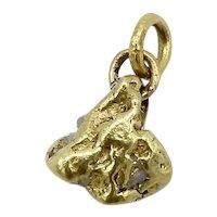 22K Alaskan Gold Nugget Pendant / Charm
