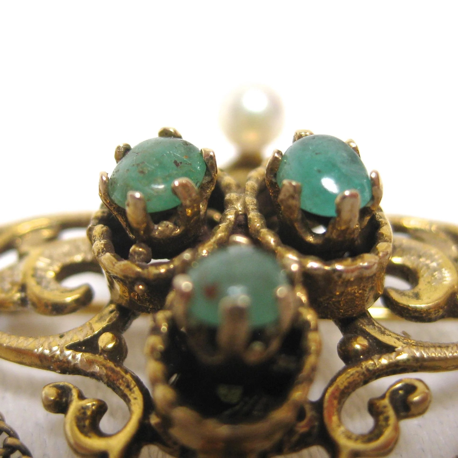 and renaissance clip on b earring david gold yurman shrimp emerald yellow amethyst