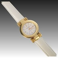 Van Cleef & Aprels Roma 18kt Gold Quartz Watch