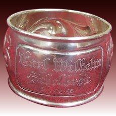 David Andersen 830 Silver Napkin Ring 1915