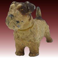 Cold Painted Scottish Terrier Sculpture