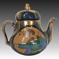 French Lustre Teapot by René Emile Brenner circa 1920