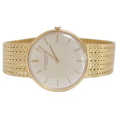 Amazing Vintage Audemars Piguet 18Kt Gold Wristwatch