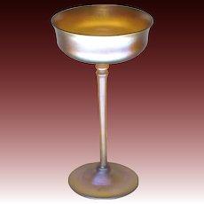 Louis Comfort Tiffany Favrile Glass Compote