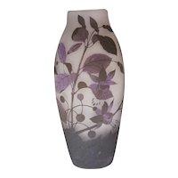Arsall Cameo Glass Vase, circa 1900