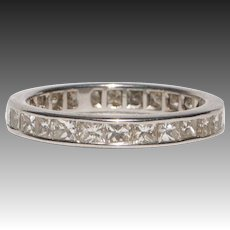 Remarkable 18kt Gold and Diamond Eternity Ring