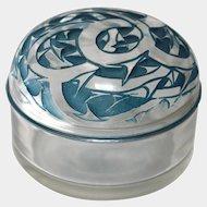 "R. Lalique ""Epines"" Dresser Jar circa 1920"