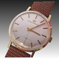 Vintage Girard Perregaux 18K Rose Gold Watch (Unisex)