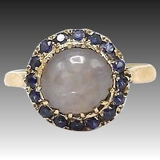 Vintage 18kt Gold, Sapphire and Star Sapphire Ring