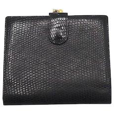 Vintage Bottega Veneta Embossed Leather Wallet