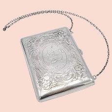 Willian Kerr Sterling Silver Art Nouveau Purse