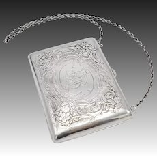 Willian Kerr Sterling Silver Art Nouveau Purse
