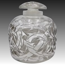 "1920's Lalique ""Epines"" Perfume Bottle"