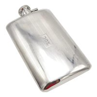 1920's Alvin Sterling Silver Flask