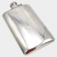 1920's Alvin Sterling Silver Flask