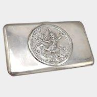 Thai Sterling Silver Case with Mekhala, Goddess of Lightning